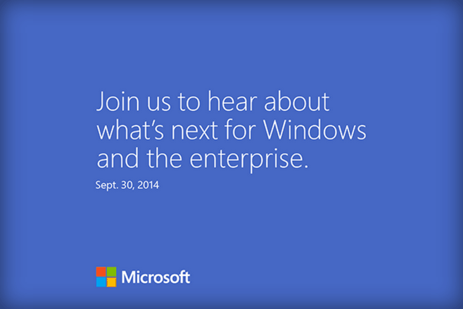 Windows 10 je zde