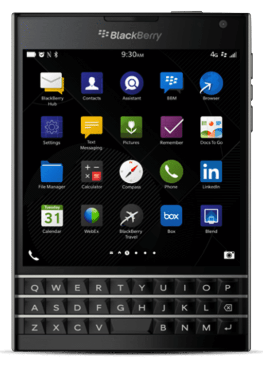 BB Passport Black