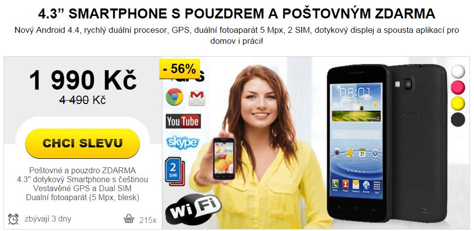 NewGo smartphone