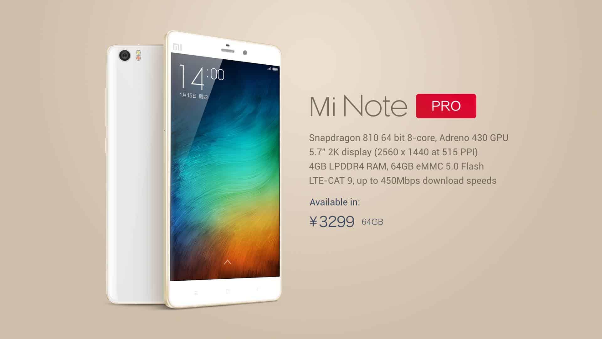 Mobil Xiaomi Mi Note