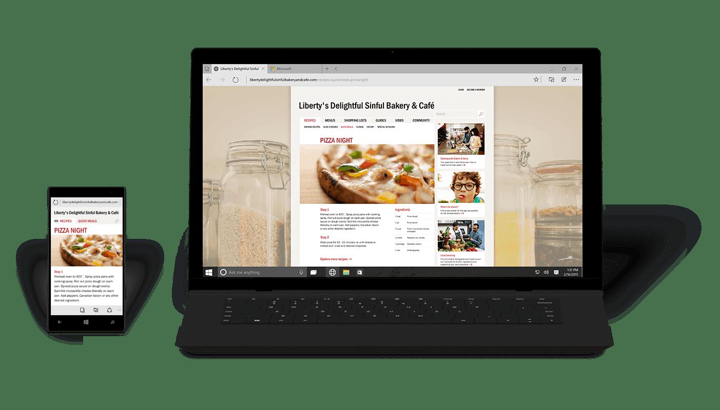 Windows 10 Phone na Laptopu