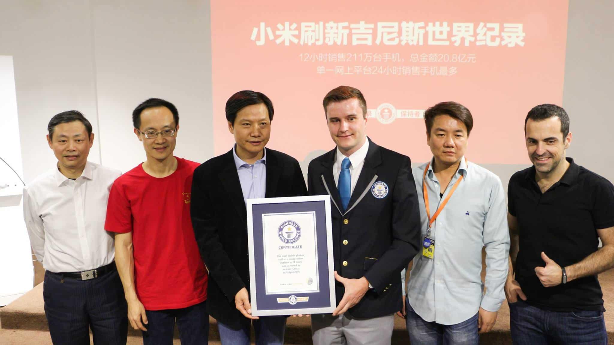 Xiaomi rekord
