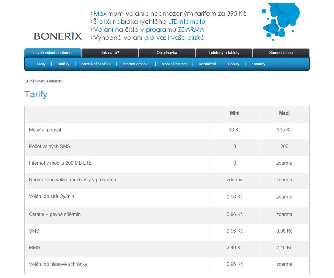 Bonerix_ceny