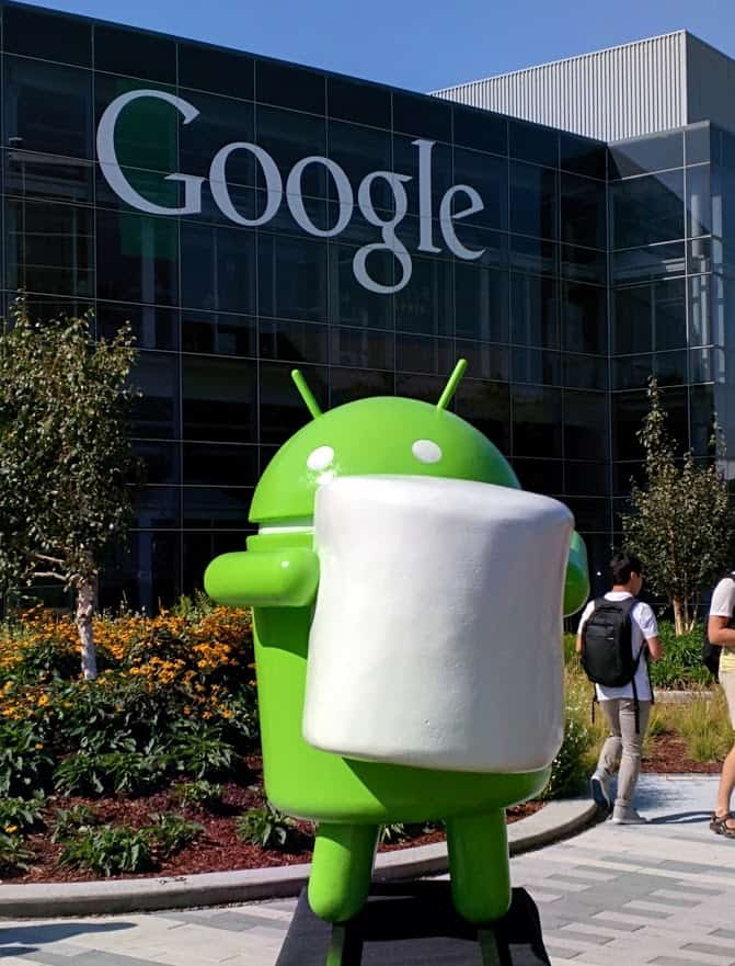 Foto nového Androida - Android 6.0 Marshmallow (Alex Ruiz)