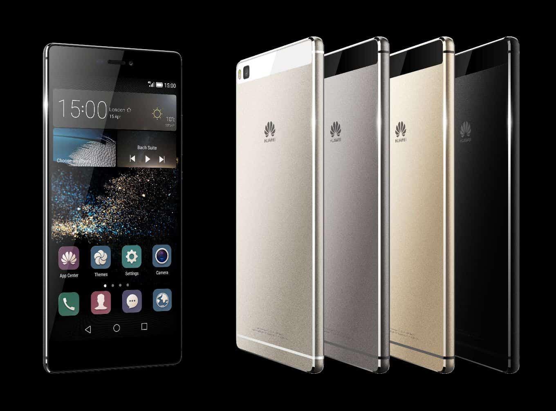 Huawei P8 colors