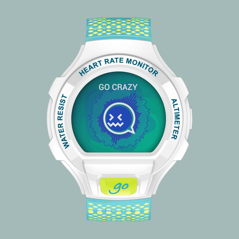Go Watch_Packshot_Lime Green & Blue_Front_Emotion UI_v16.12
