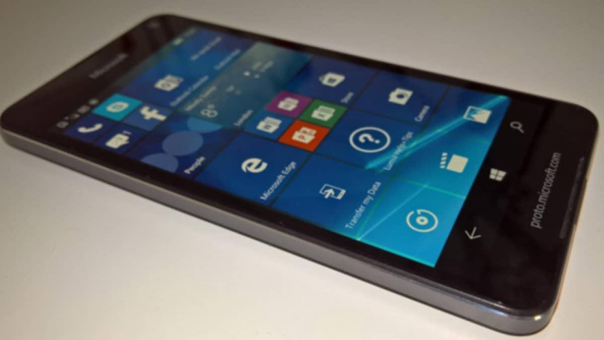 Lumia 650 true