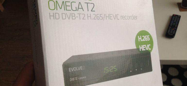 STB pro DVB-T2 Evolveo