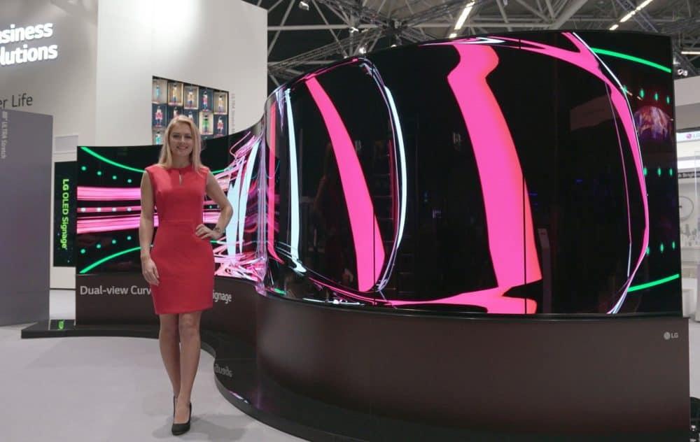Společnost LG Display cílí technologií OLED na trh luxusních televizorů