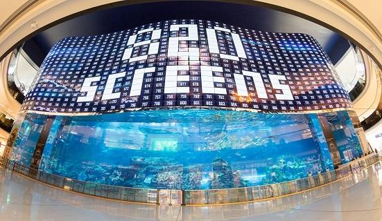 Dubai Mall: LG OLED