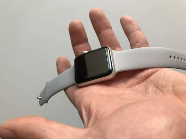 Apple Watch 3: Přední strana
