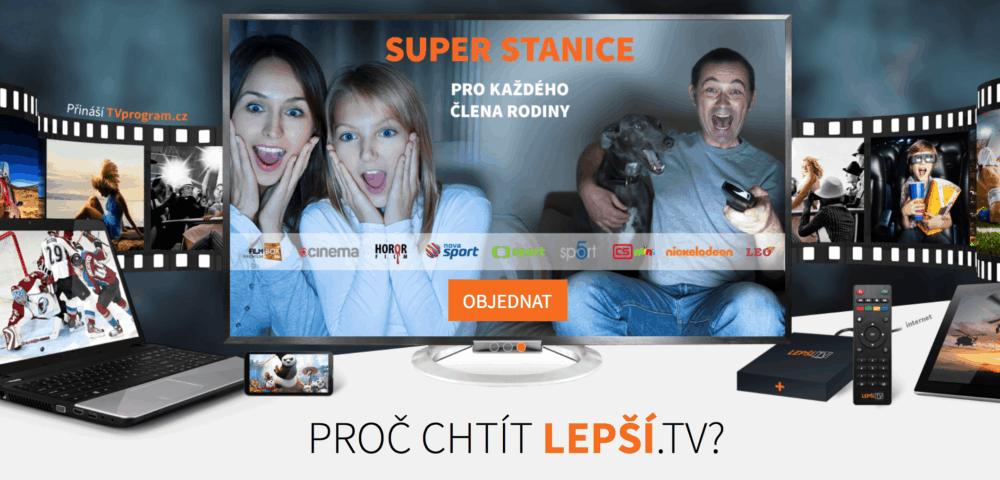 Ulehčíme divákovi orientaci v EPG. Lepší.TV zavádí obrázkové EPG
