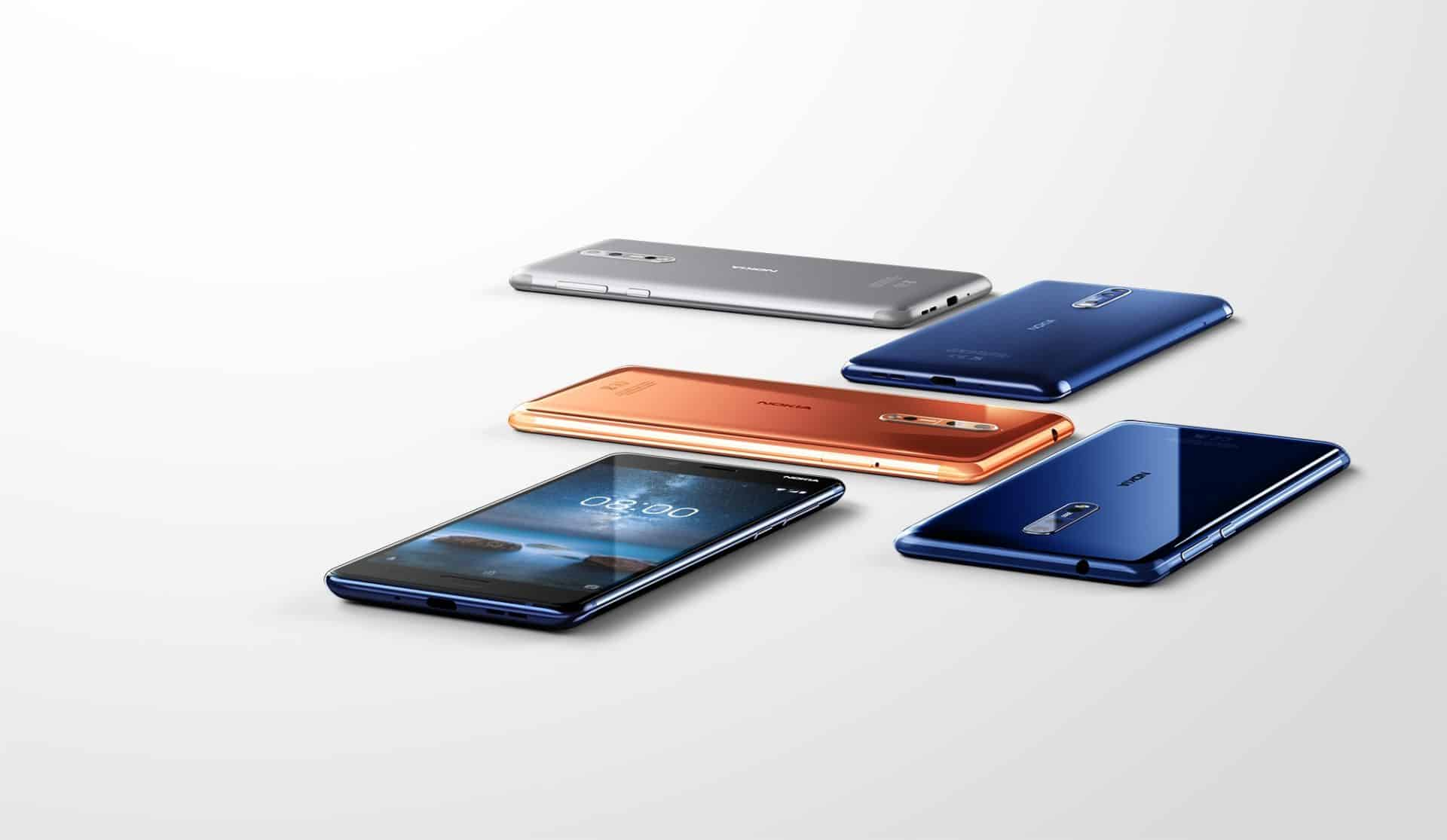 Mobilní telefon Nokia 8 dostává systém Android 8.0 Oreo: HMD Global