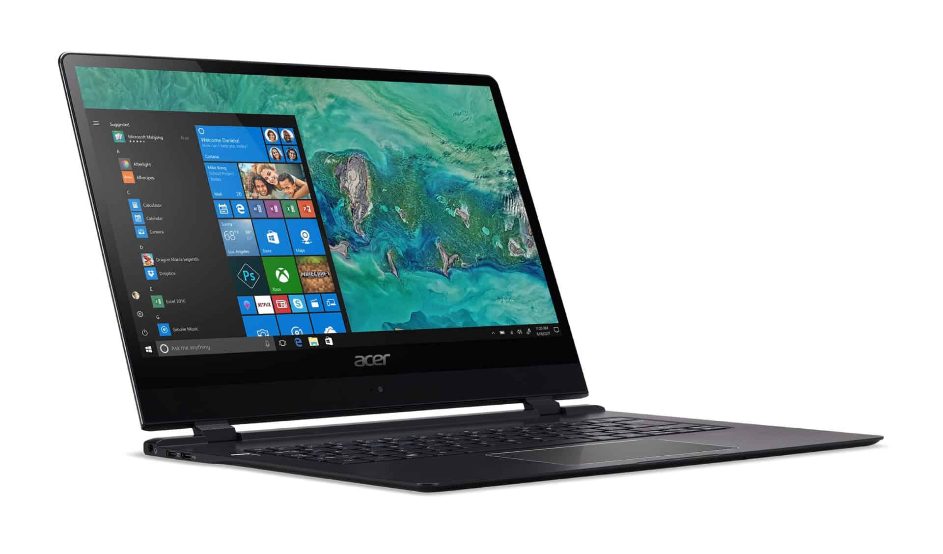 Acer představuje nový Swift 7, nejtenčí notebook na světě: CES 2018