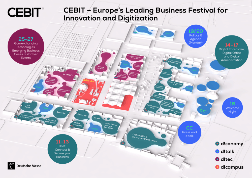 Po letošním veletrhu budete fit pro práci v digitální kanceláři: CeBIT 2018