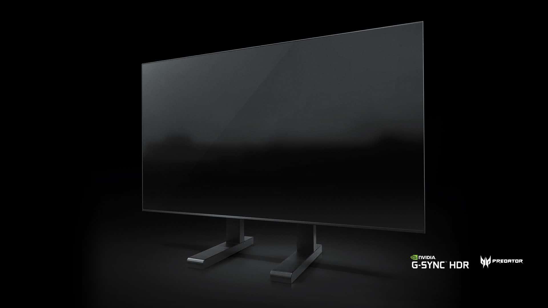 Velkoformátový herní monitor Predator s NVIDIA G-SYNC