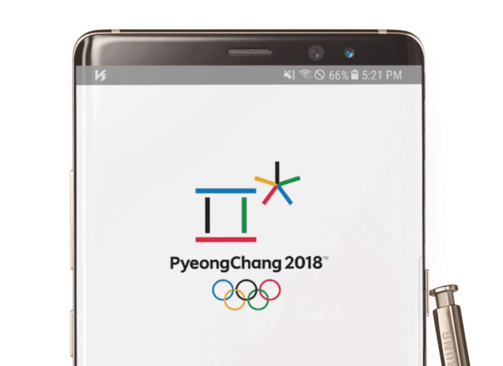 Samsung vydal oficiální aplikaci PyeongChang 2018 ke stažení: ZOH