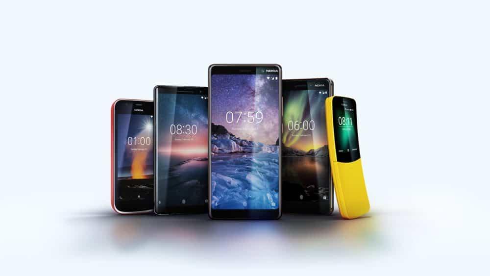 HMD Global na MWC odhalilo pětici nových telefonů Nokia: Android One