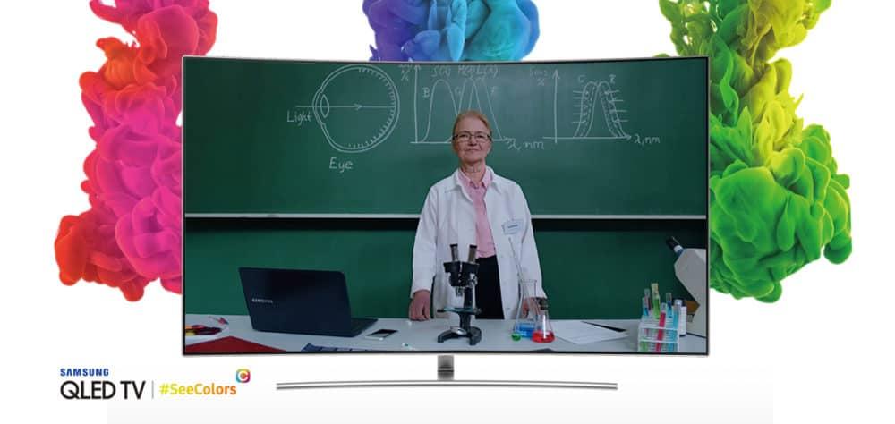 Samsung představuje aplikaci SeeColors pro TV QLED s podporou poruchy vidění