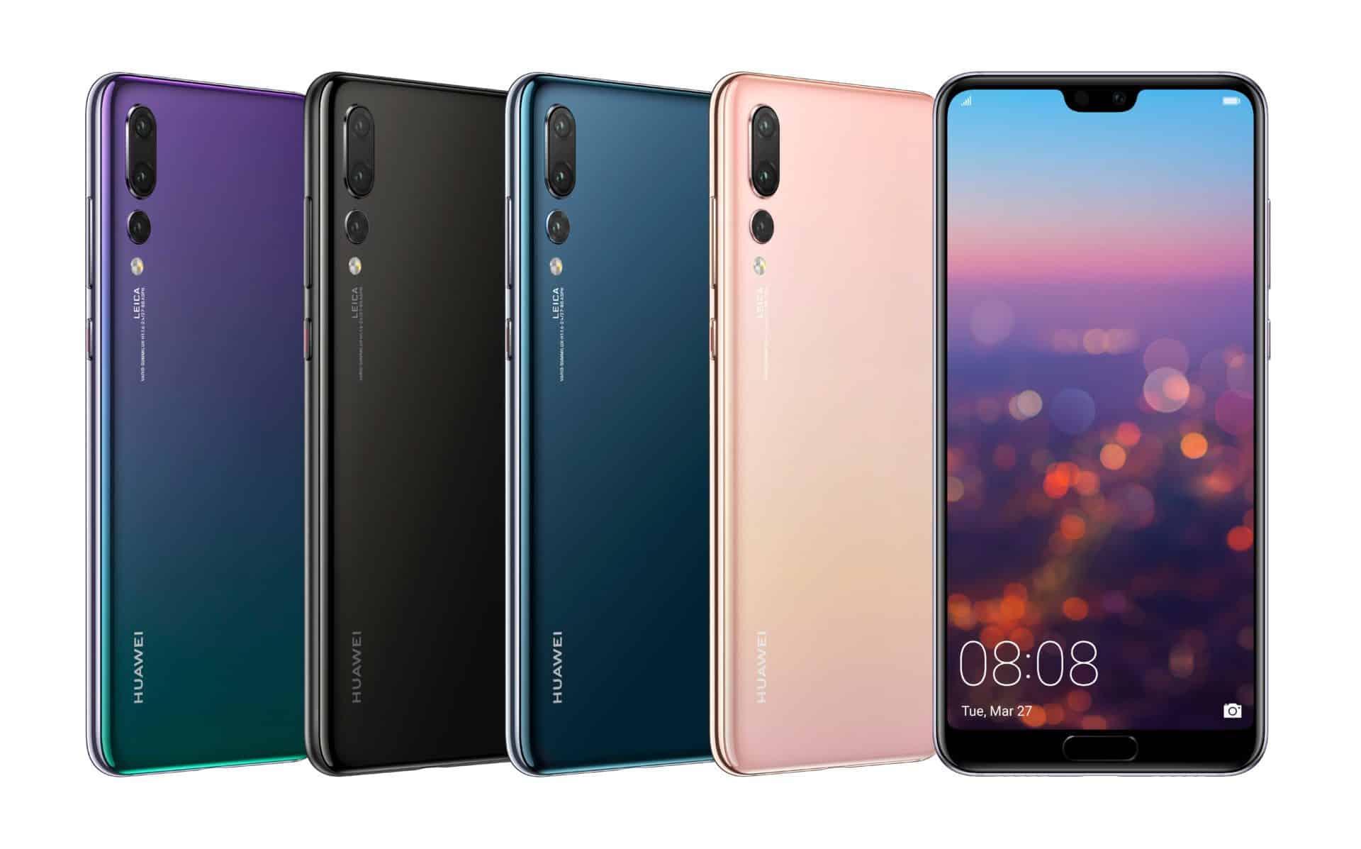 Předobjednávky prémiového smartphonu Huawei P20 Pro jsou spuštěny