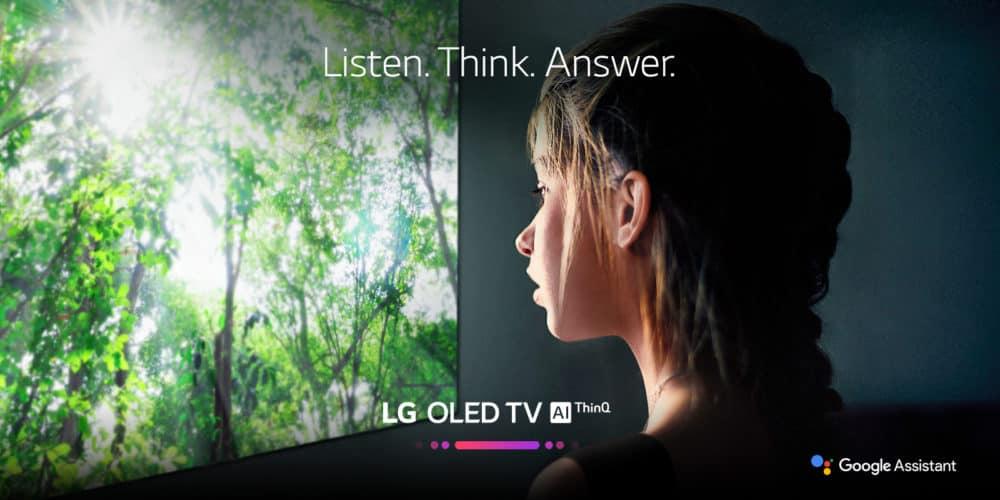 Google Asistent pohání 4K UHD televizory společnosti LG