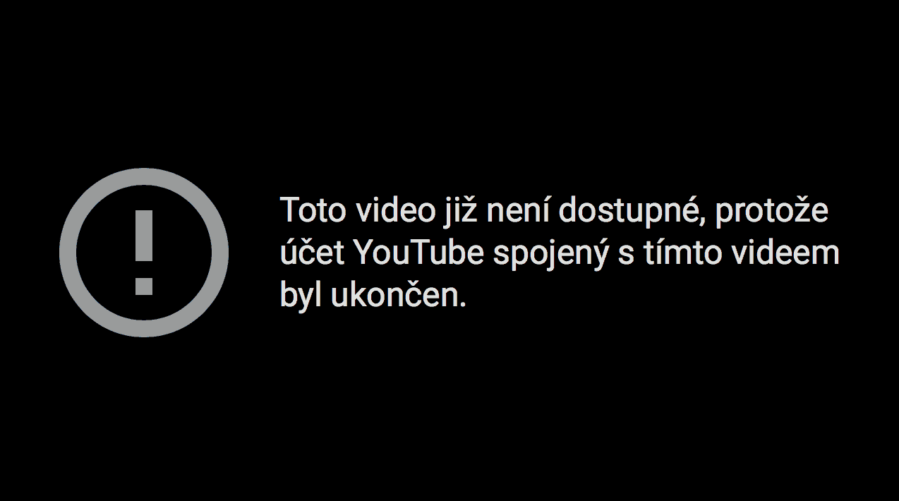 YouTube kanál MikeJePan s BANem