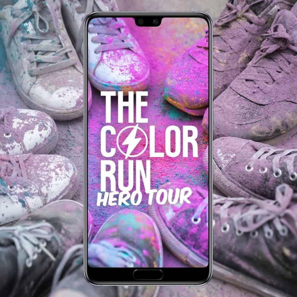 The Color Run se poběží v Praze. Huawei P20 Pro jej nafotí