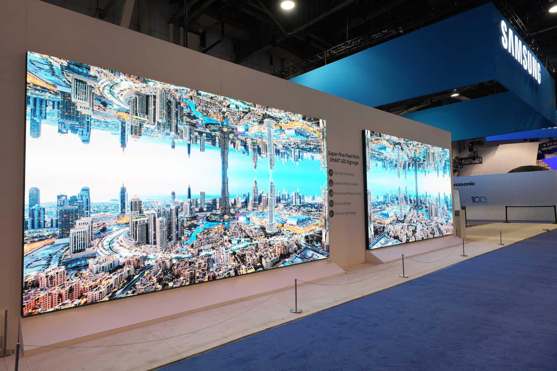 Samsung představil na veletrhu InfoComm The Wall Professional