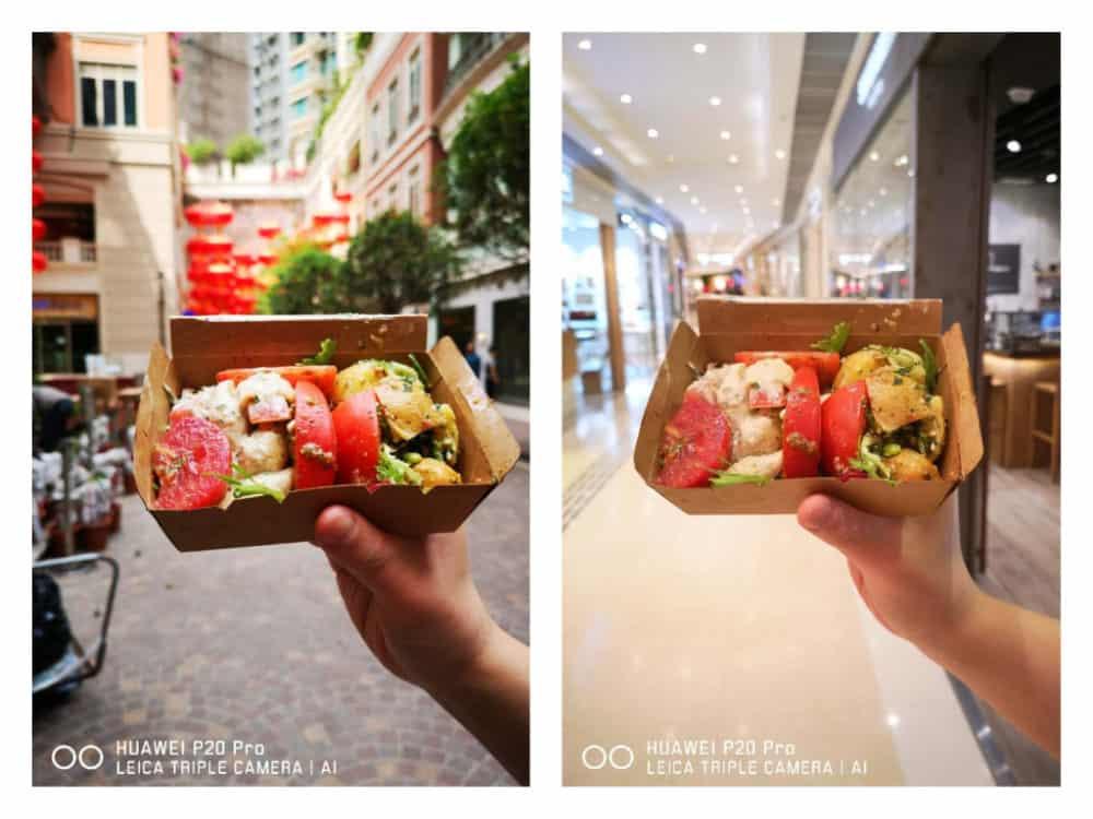 Jak fotit jídlo mobilem? 4 tipy pro začínající foodblogery: Huawei