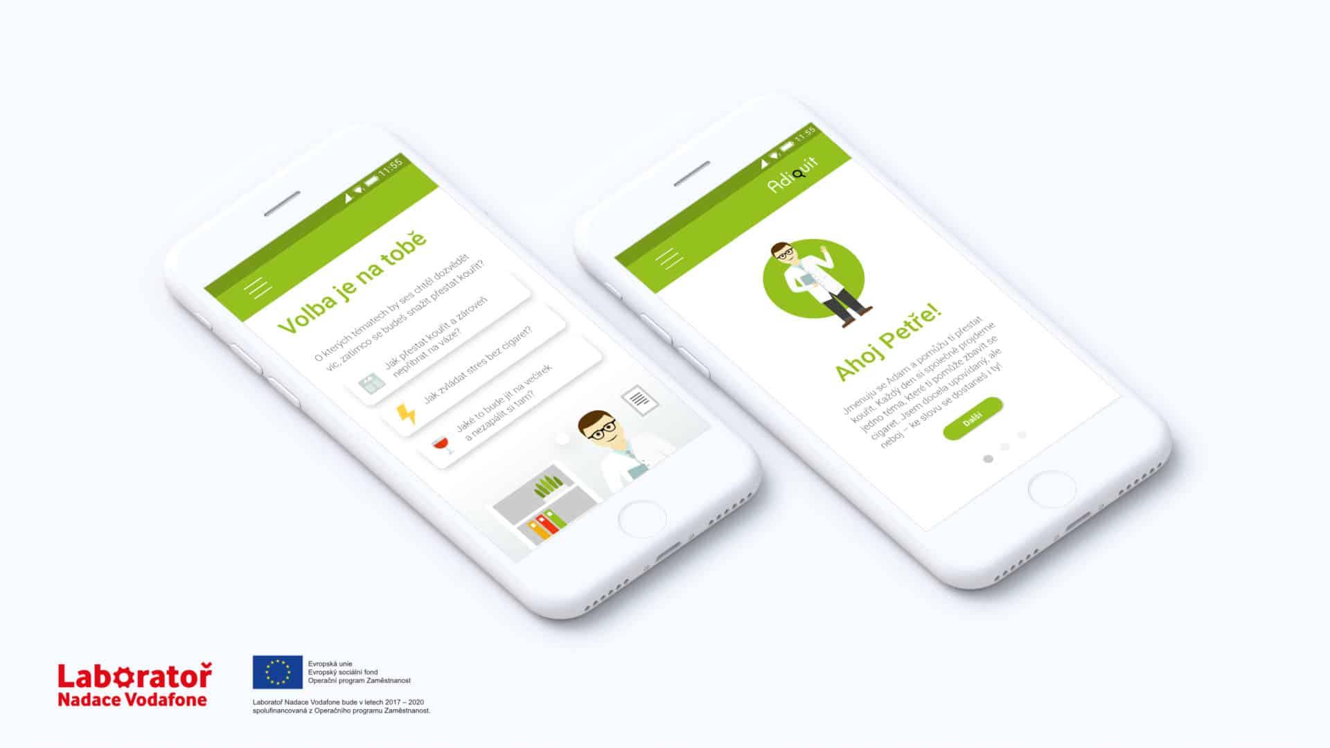 Aplikace pro odvykání kouření jako netradiční firemní benefit: AdiQuit