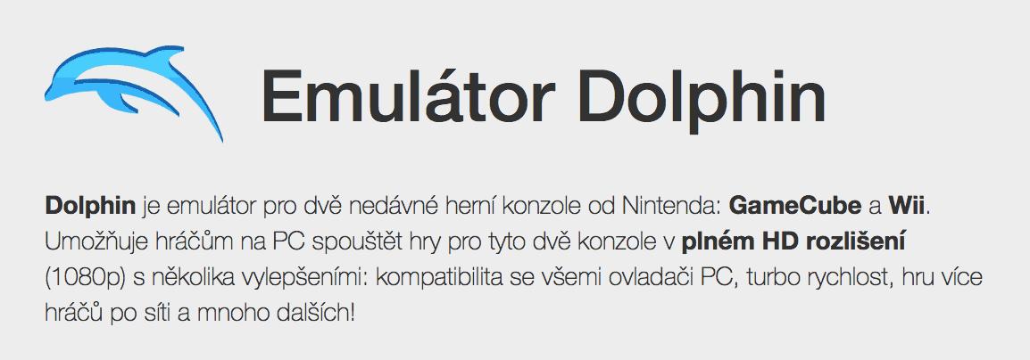 Emulátor her Dolphin se po dvouleté pauze vrací na Google Play