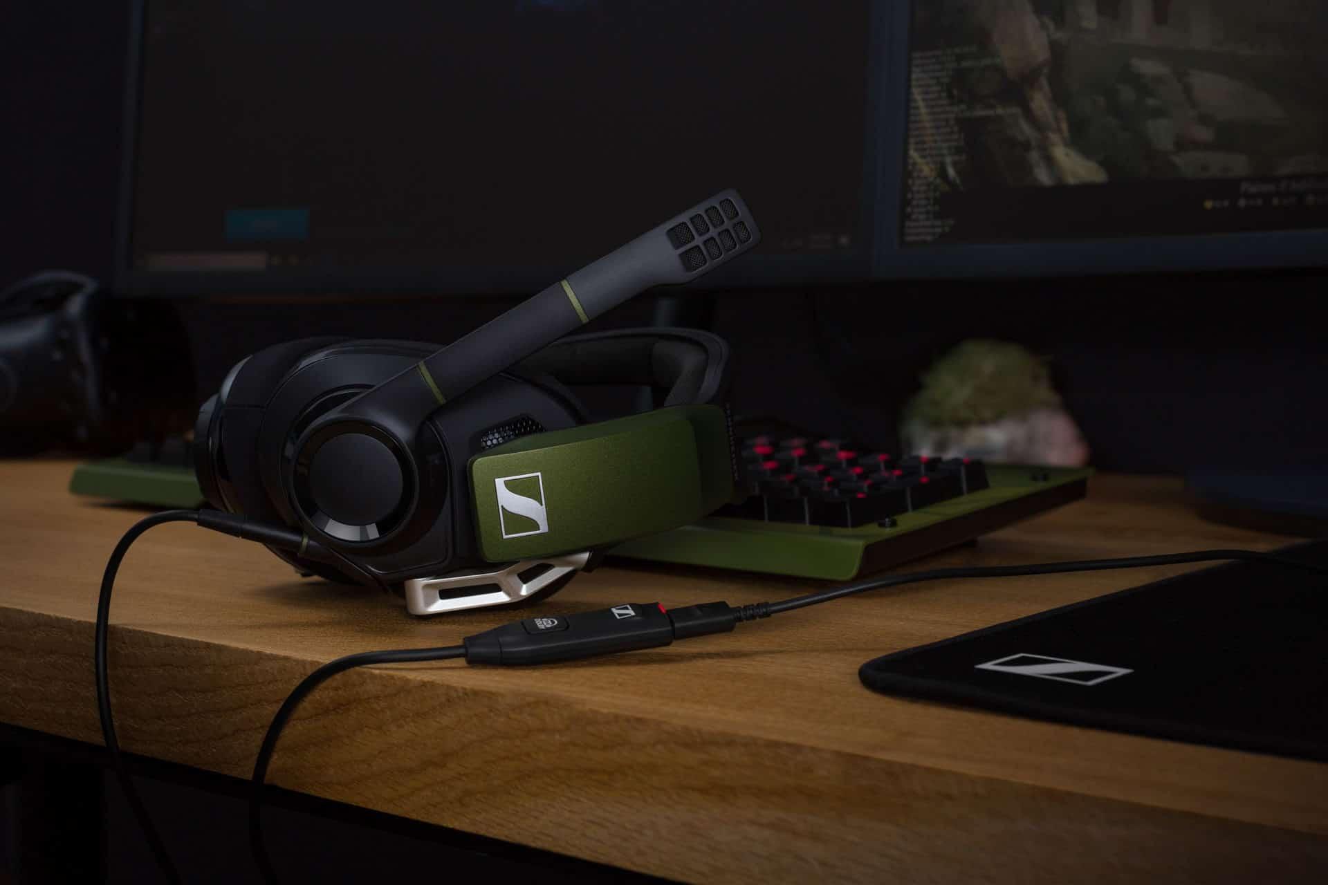 Sluchátka Sennheiser GSP 550 s nekompromisním prostorovým zvukem
