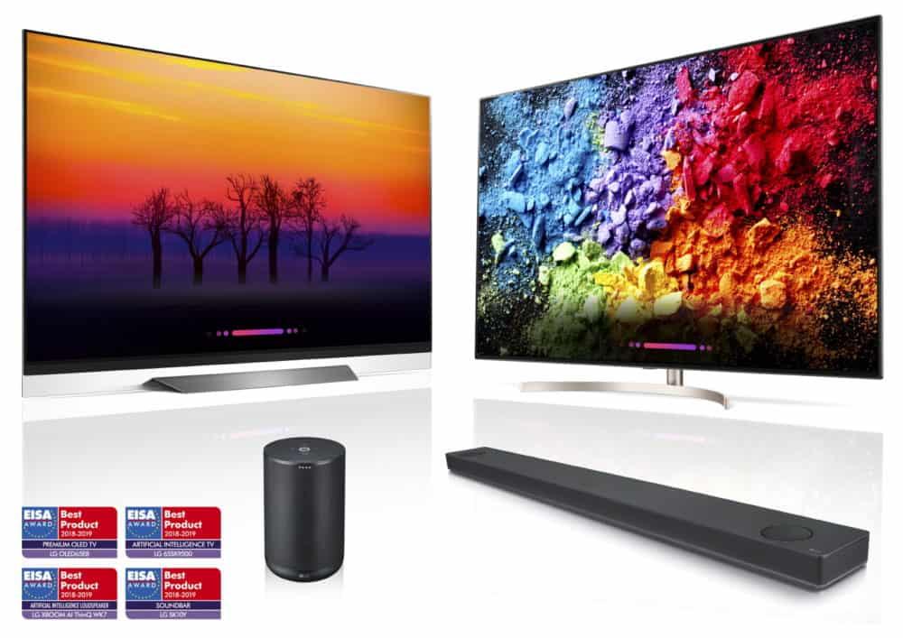 Televizor LG OLED65E8 dostal ocenění EISA PREMIUM OLED TV