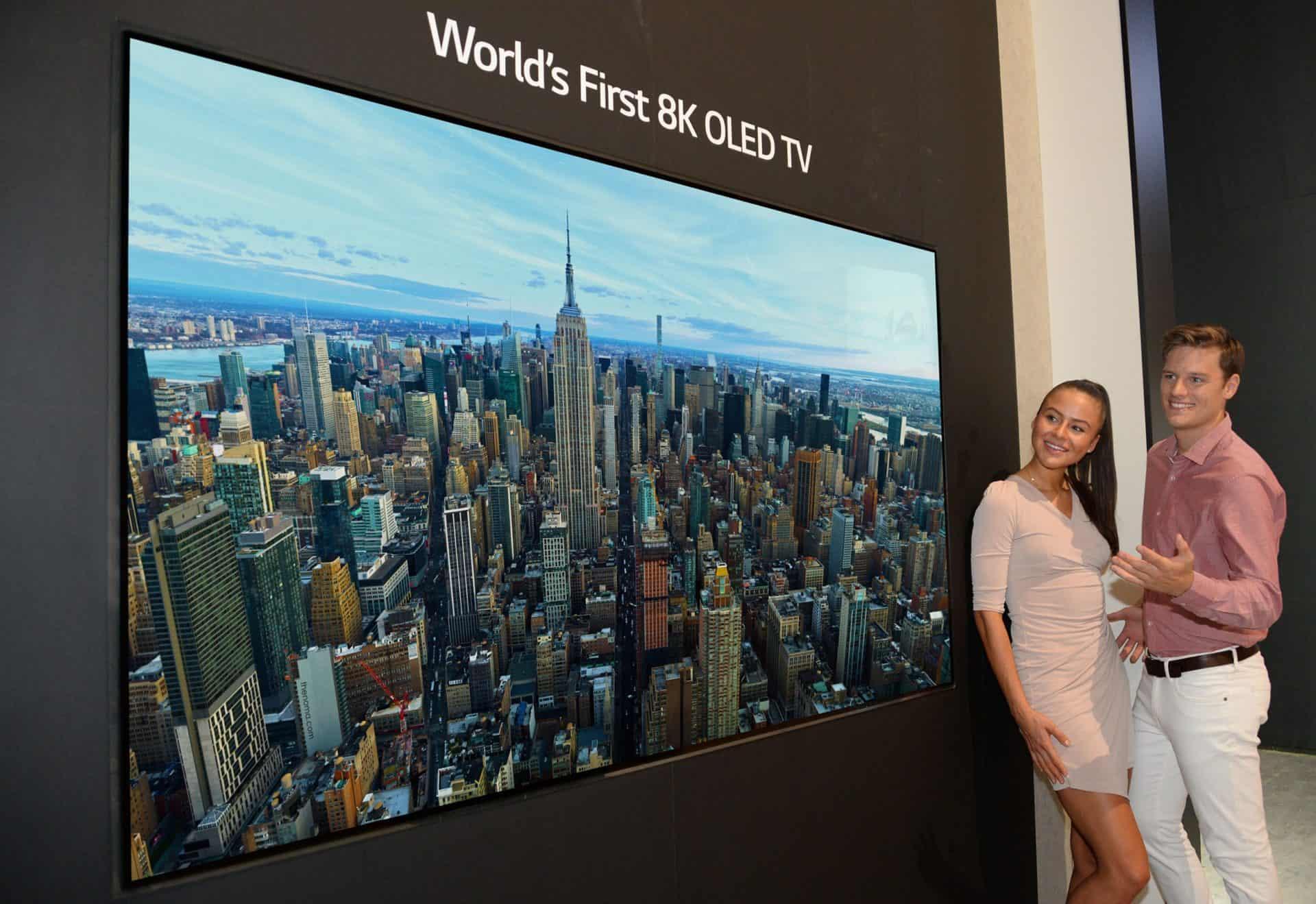 IFA 2018 představila 88palcový 8K OLED televizor od společnosti LG