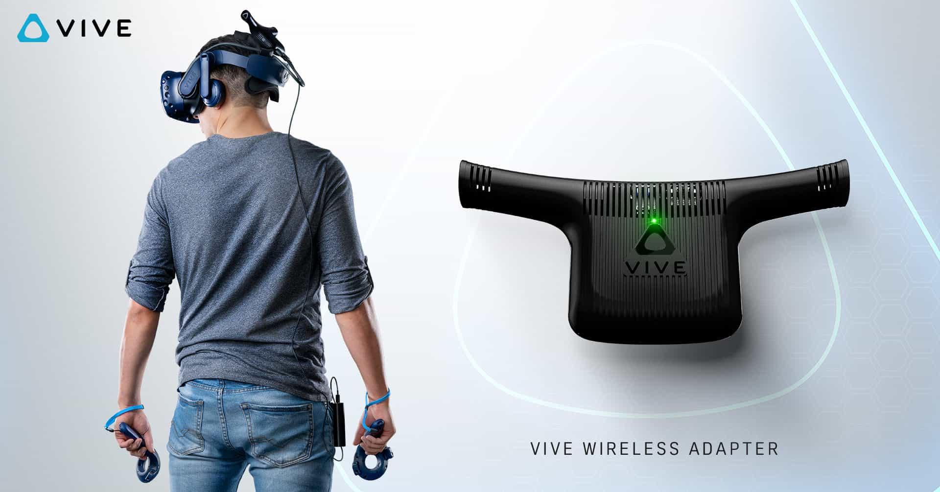 HTC Vive se zbavuje kabelů, do prodeje přichází Vive Wireless Adapter
