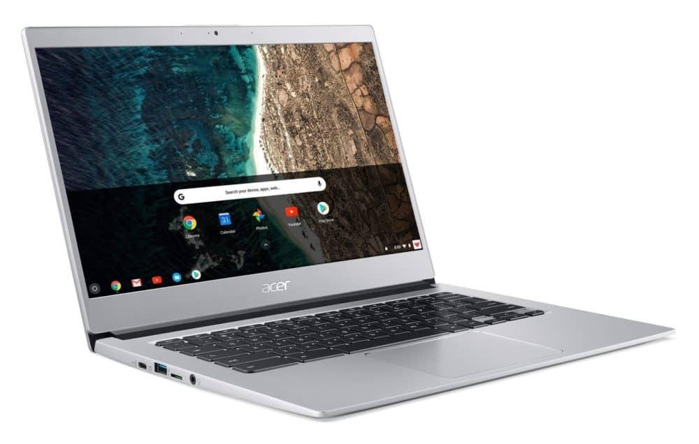 Společnost Acer završuje své vedoucí postavení na trhu schromebooky