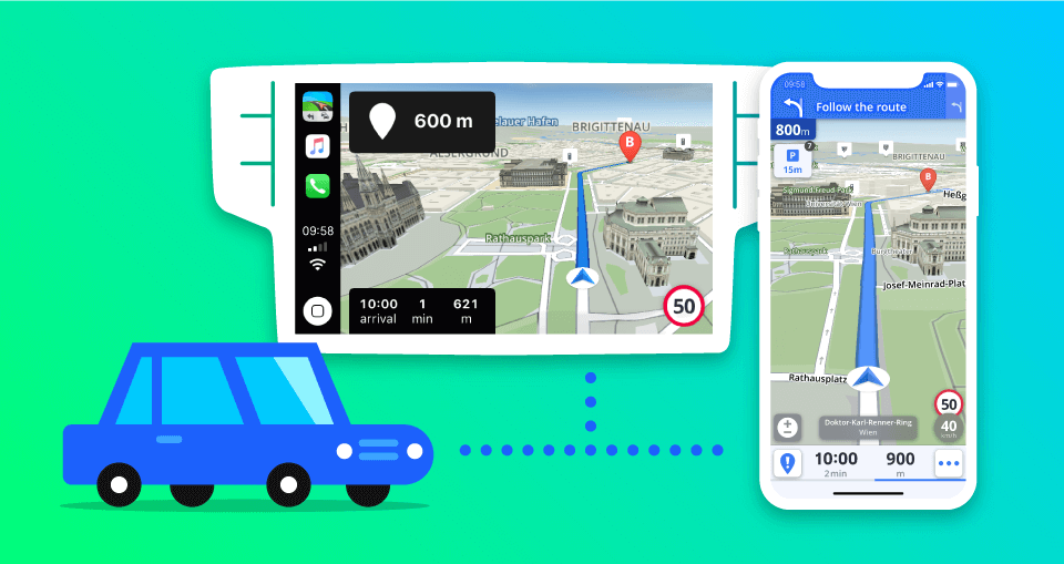 Sygic představí integraci Apple CarPlay na Mobile World Congressu
