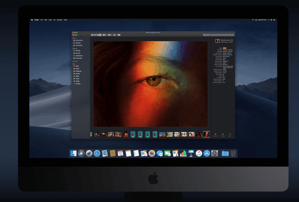 Apple vydal pokročilý operační systém pro desktopy. macOS Mojave