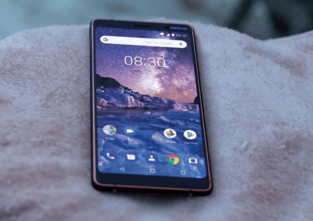 Nokia 7 Plus servíruje první kousek aktualizace Androidu 9 Pie