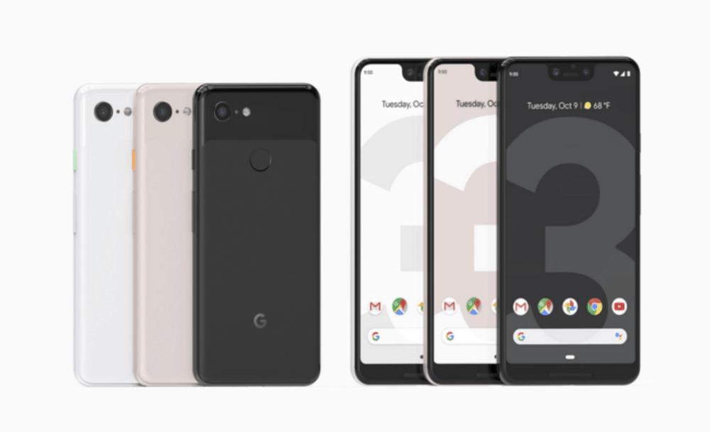 Pixel 3 a Pixel 3XL: zbrusu nové smartphony společnosti Google