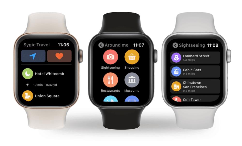 Mobilní aplikace Sygic Travel s podporou pro hodinky Apple Watch (4)
