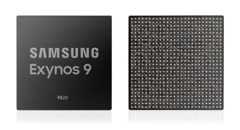 Exynos 9820 obsahuje centrální procesorovou jednotku čtvrté generace
