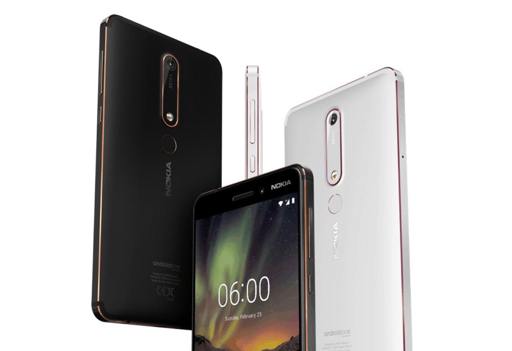 Nokia oznámila dostupnost aktualizace Android 9 Pie pro Nokii 6.1