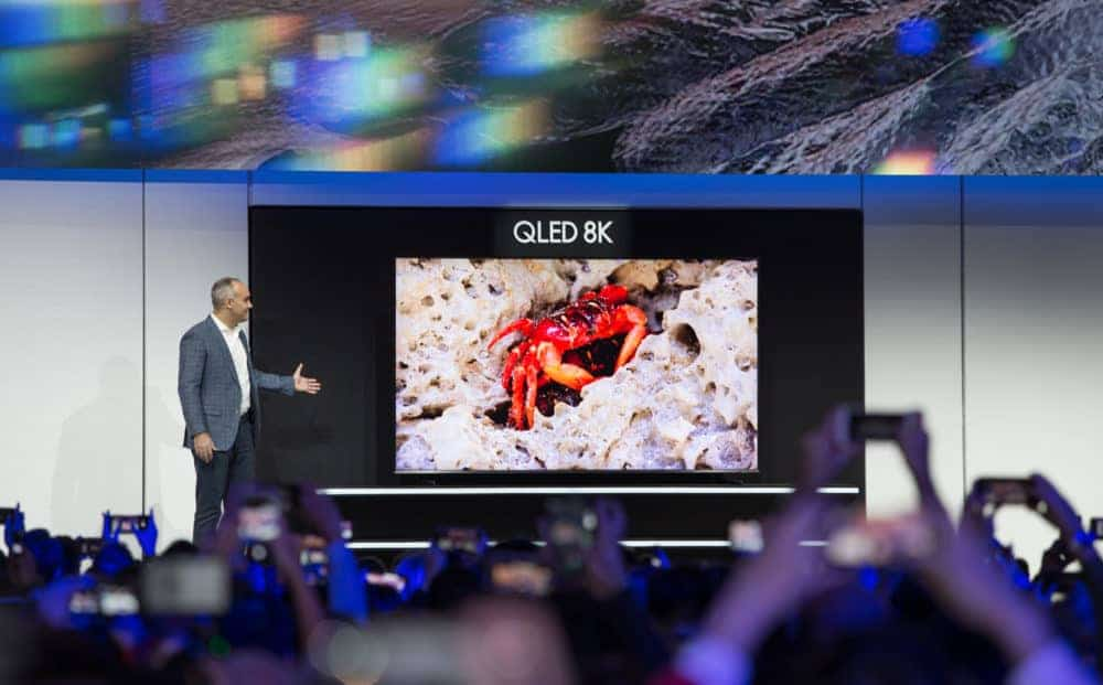 O něco levnější. Samsung QLED s rozlišením 8K nyní s bonusem 20 %