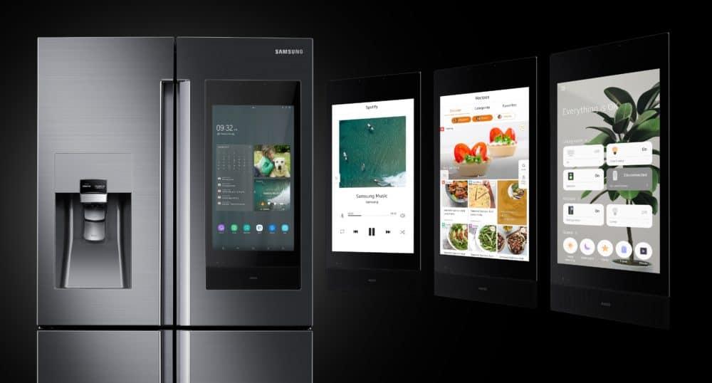 Samsung na veletrhu CES 2019 uvedl novou generaci chladničky Family Hub