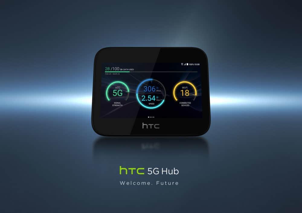 MWC 2019 odhalilo první 5G Hub na světě. Stojí za ním HTC