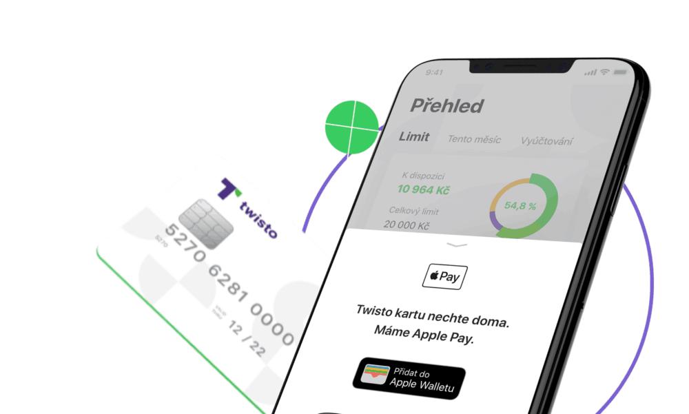 Twisto spouští Apple Pay. Platit můžete mobilem nebo hodinkami