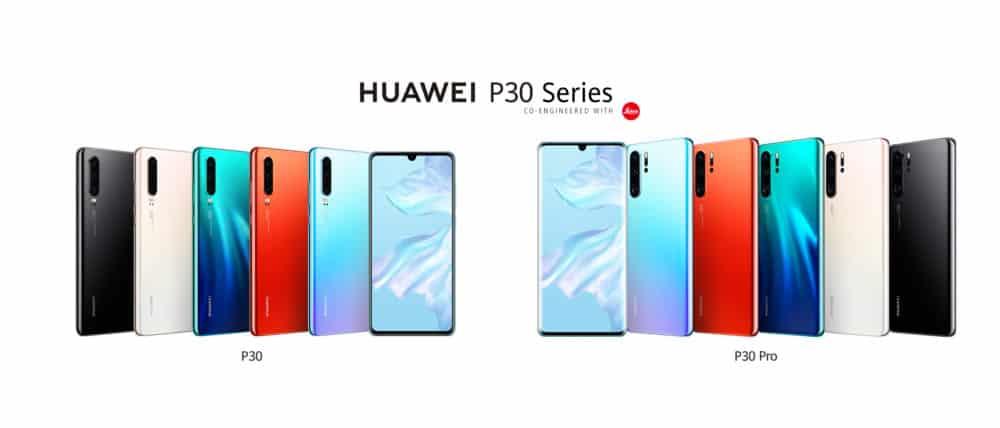 Huawei P30 i P30 Pro jsou v prodeji