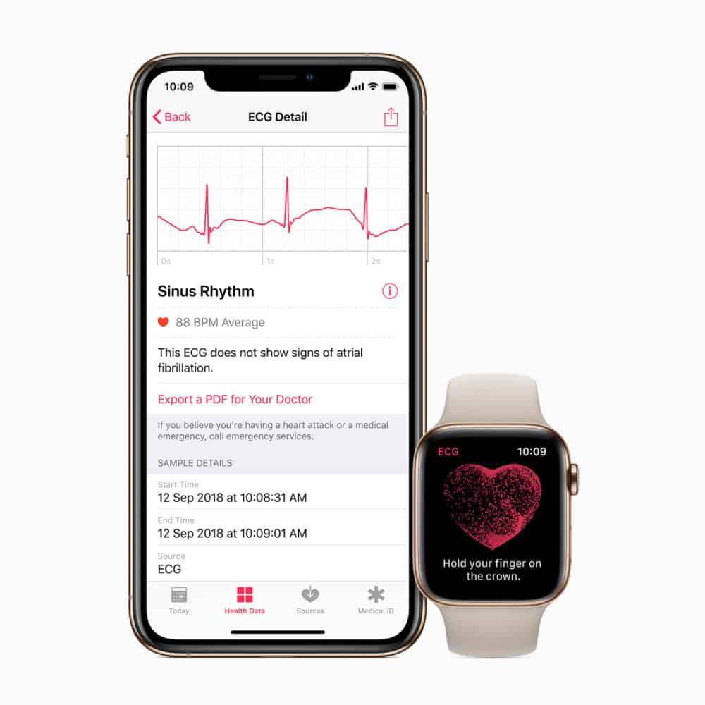 Apple Watch a hodinky s Wear OS podporují aplikaci Kalorické tabulky