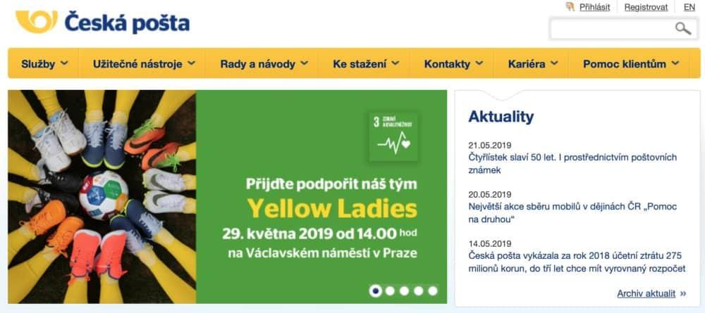 Rady, tipy a návody, jak nejlépe využít služeb České pošty